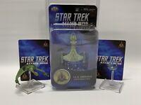 WizKids Heroclix Star Trek Attack Wing Lot ~ IKS Drovana, Korinar & USS Intrepid