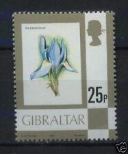 Gibraltar 1977-82 SG#386a 25p Flower MNH