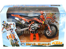 AUTOMAXX 600041 2012 RED BULL KTM 250 SX-F DIRT BIKE 1/12 MARVIN MUSQUIN #38