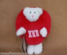 Boyds Bears Plush M & M Hunnybunch Peekerbear Red Limited Edtion Retired