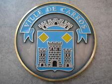 MEDAILLE VILLE DE CARROS ALPES MARITIMES