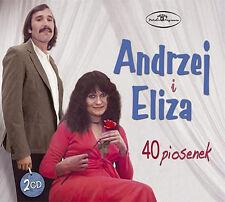 Andrzej i Eliza - 40 piosenek  (CD 2 disc)  NEW