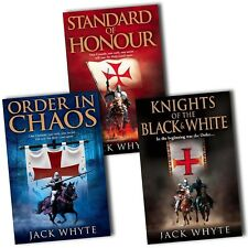 Jack Whyte Collection Templar Trilogy 3 Books Set Order In Chaos New