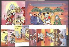 Walt Disney, Philanippon - Dominica - 1384-1391, Bl.180-181 ** MNH 1991