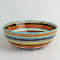 Two and a Half Men Charlie Serving Bowl 11 Inch Sedona Stripe New