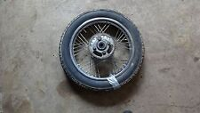 1981 yamaha sr185 Y659~ rear wheel rim w 44t sprocket 16""