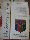 Bourgogne Revue Généalogie Nos Ancêtres et nous - N°98- 2003 Côte d'Or Nièvre
