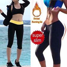 Damen Neopren Schwitzhose Sport Korsett Sporthose Rosa Yoga Fitness SHAPERS MES