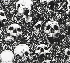 Flower Skulls Hydrographics Water Transfer Printing film