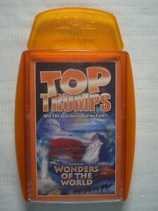 Top Trumps Natural Wonders of the World Cards Game by Winning Moves 2006