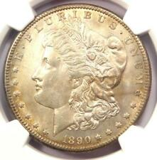 1890-CC Morgan Silver Dollar $1 - Certified NGC Uncirculated Detail (UNC MS)!