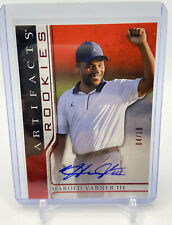 New listing 2021 Upper Deck Artifacts Golf Rookies HAROLD VARNER RC Auto Red Autograph /10