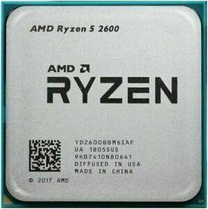 AMD Ryzen 5 2600 R5-2600 Six-Core 3.4-3.9 GHz 16M AM4 65W CPU Processor