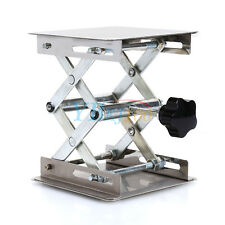 New 100X100mm Lab-Lift Lifting Platforms Stand Rack Scissor Stainless steel