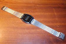 Vintage MONTRE watch Q&Q Q quartz bezel JAPAN style casio INOX steel bracelet