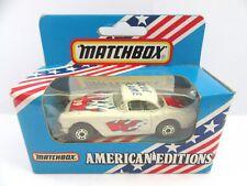 MATCHBOX SUPERFAST 71d'62 Corvette-Flamme Bleue-Macau Base-Comme neuf/boxed