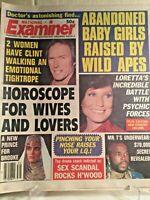 National Examiner CLINT EASTWOOD BROOKE SHIELDS MR T SEPTEMBER 1984