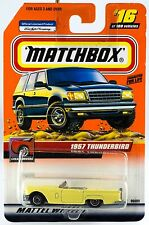 Matchbox #16 1957 Thunderbird With MB 2000 Logo New On Card
