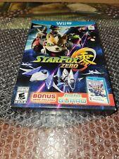 Star Fox Zero + Star Fox Guard (Wii U, 2016) Brand New!