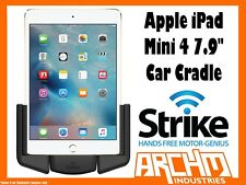 "STRIKE ALPHA APPLE IPAD MINI 4 7.9"" CAR CRADLE - BUILT-IN FAST CHARGER SECURE"