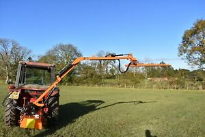 Tractor Mounted T160 Hedge Cutter Trimmer Finger Bar Compact