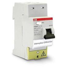 Interrupteur Différentiel 2p63a 30ma Type a Automatique Fh202s ABB 444161