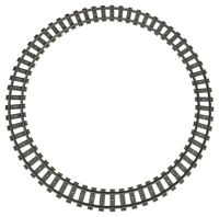 LEGO Train Track Curve Curved 16 Piece Circle Rails 75955 10254 10233 10219