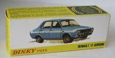 Repro Box Dinky Nr.1424 Renault 12 Gordini