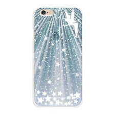 iPhone6 Plus case 5.5inch Tinker Bell Apple mark (sparkling) White from Japan