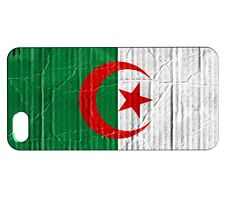 Coque iPhone SE Drapeau ALGERIE 04