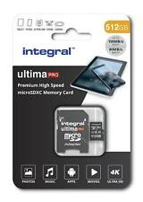 Integral 512GB Micro SDXC Memory Card. UHS-I U3 Class 10 V30 Android A1 100MB/s