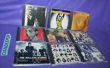 9 The Rolling Stones Assorted Music CDs Stripped Voodoo Tattoo Exile Emotional +