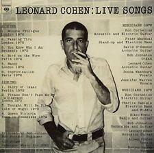 Leonard Cohen Live Songs LP Vinyl 33rpm