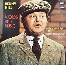 BENNY HILL Words And Music LP.