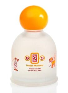 Jafra Tender Moments Toddler 1-2-4 Baby Cologne  3.3 Fl oz New & Sealed