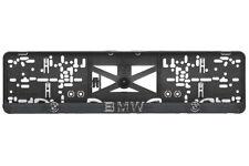 BMW 2xECHTE 3D-Effekt Kennzeichenhalter Nummernschildhalter