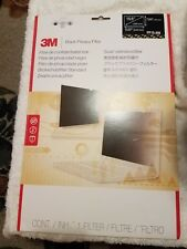 """3M Blackout Frameless Privacy Filter for 15.6"""" Widescreen Notebook 16:9 PF156W9B"""