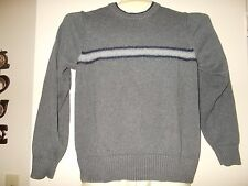 Tommy Hilfiger Mens GRAY Sweater S FREE FAST SHIP