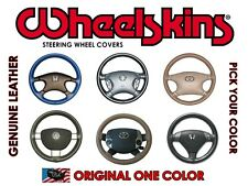 WHEELSKINS GENUINE LEATHER STEERING WHEEL COVER for DODGE RAM 1500