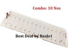 Combo 10 Nos. 84 SMD LED Best Quality LED BOARD 12V DC ultra-bright, White