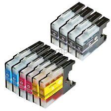 10 für Brother Patronen LC1240 XL Drucker J525W J725DW J925DW MFC J430W J5910DW