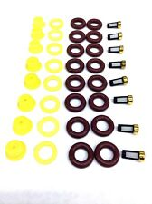 FUEL INJECTOR REPAIR KIT O-RINGS, PINTLE CAPS, SPACER FILTERS FORD V8 BOSCH