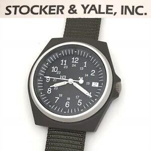 Rare NOS Vintage Stocker & Yale Sandy 590 Type 3 46374 Mens Military Watch