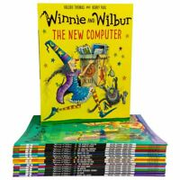 Valerie Thomas Collection Winnie and Wilbur Series 16 Books Pack Bag Set New