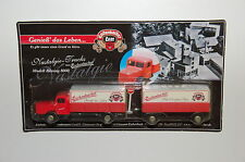 Werbetruck - Nostalgie-Truck Eschenbacher Bier - rot - 1:87 - Spur H0 - 6