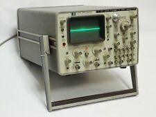 HP 1707A OSCILLOSCOPE w ORIG STORAGE COVER 10101A, OPTION 012+020 COLLECTOR ITEM