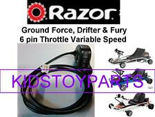 Razor Ground Force GRAY GO CART Scooter V13+ Thumb Throttle  6 Pins / 6 Wires