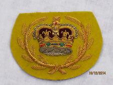 N º 1 Vestido Insignia de brazo: Warrant Oficial 2, sobre amarillo, #1
