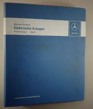 Werkstatthandbuch Mercedes Benz Elektrik R107 W116 W114 W115 ab 1971