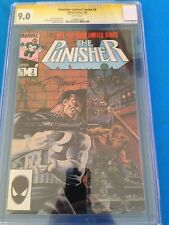 Punisher Limited Series #2 - Marvel - CGC SS 9.0 - Signed by Mike Zeck